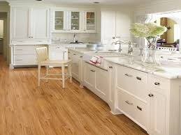 White Kitchens With Wood Floors Wood Floors For White Kitchens Lavish Home Design