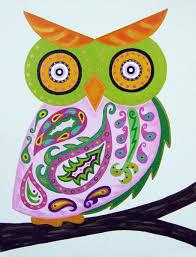 custom made pink paisley owl baby wall art child wall art owl nursery painting  on paisley print wall art with custom pink paisley owl baby wall art child wall art owl nursery