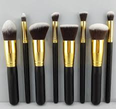 professional 8pcs makeup brushes for mac cosmetic make up brush set women 39 s toiletry kit whole