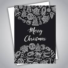 Chart Paper Greeting Card Christmas Greeting Cards Vector Premium Download