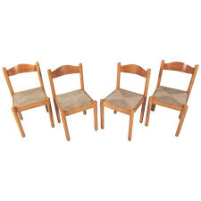 marvellous design rush seat dining chairs italian at 1stdibs french country ladder back
