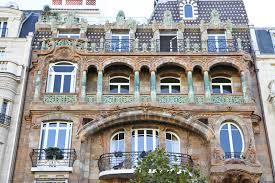 Art Nouveau Architecture Parisienne