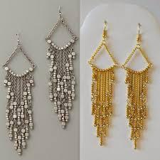 Diy Bead Chandelier Diy Gold Chandelier Earrings My Girlish Whims