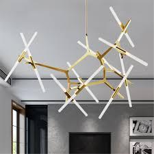 metal pendant lighting. 20-Heads-Modern-Branch-Chandelier-Metal-Pendant-Lamp- Metal Pendant Lighting