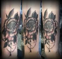 Květinové Motivy Tetovací Studio Nz Nela Havigerová
