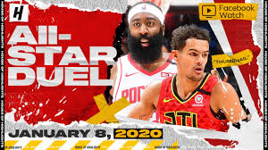 Bleacher Report - James Harden vs Trae Young TRIPLE-DOUBLE Duel Highlights  | Rockets vs Hawks | January 8, 2020