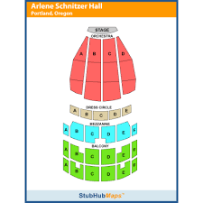 Arlene Schnitzer Concert Hall Seating Chart Arlene Schnitzer Concert Hall Portland Event Venue