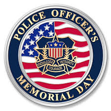police officer s memorial day. Simple Day National Police Officers Memorial Day 51517 To Officer S Pinterest