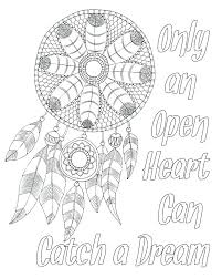 Dream Catcher Sayings Quote Coloring Pages Sayings Coloring Sheet Motivational Coloring 44