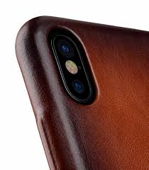 melkco elite series premium leather snap back pocket case for apple iphone x tan