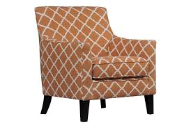 orange accent chair with arms  modern chairs quality interior
