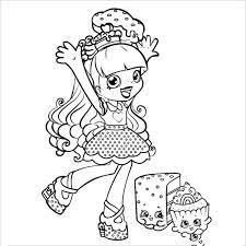 Tranh tô màu đẹp, dễ thương nhất dành cho bé gái 7 tuổi tập tô