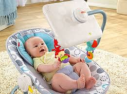 Fisher Price In Hot Seat Ipad Bouncy Chair Lets Apple Babysit Tots