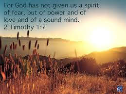 Image result for 2Timothy 1:7