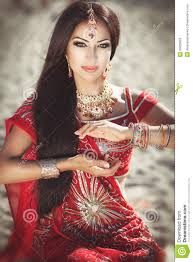 Coiffure Femme Hindou