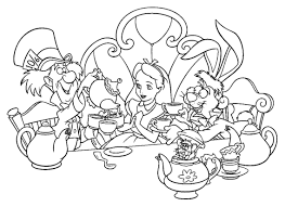 Small Picture Alice In Wonderland March Hare Coloring PageInPrintable Coloring