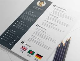 20 Free Editable Cv/resume Templates For Ps & Ai Regarding Indesign ...