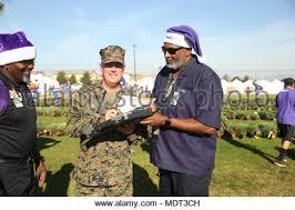 U.S. Marine Corps Brigadier Gen. Kevin J. Killea signs off on the tree ...