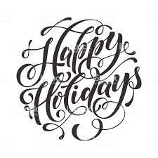 happy holidays black and white card. Beautiful White Happy Holidays Text For Greeting Card Invitation Royaltyfree Happy  Holidays Text With Black And White Card Y