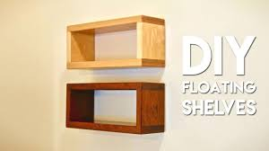 floating shelves how to build floating shelf with invisible hardware crafted work floating shelves white floating shelves