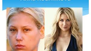 30 shocking photos of hot celebrities without makeup or photo
