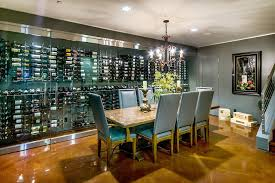 wine cellar in kitchen floor wine cellar contemporary with gray door stotler design gr