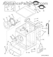 ge wh10x10003 lock door as appliancepartspros com part diagram