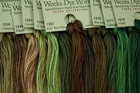 Weeks Dye Works Hand Over Dyed Fibers Embroidery Floss