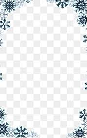 Free Winter Png Borders Free Winter Borders Png