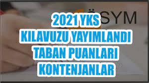 SON DAKİKA ÖSYM 2021 YKS EN GÜNCEL HALİYLE TERCİH KILAVUZU YAYIMLANDI  #2021ykskılavuzu #ehocamm - YouTube