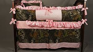 pink camo baby bedding crib set