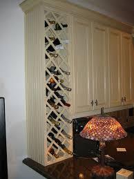 kitchen cabinet wine rack insert kitchen wine rack idea but i don t need this much