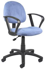Office Chair With Adjustable Arms Amazoncom Boss Office Products B325 Zb Perfect Posture Delux