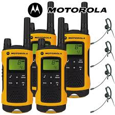 motorola tlkr t80. 10km motorola tlkr t80 extreme two way radio walkie talkie travel pack with 4 x headsets for tlkr