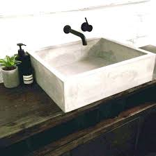 decoration how to make a concrete countertop or vanity with integral sink do regarding how