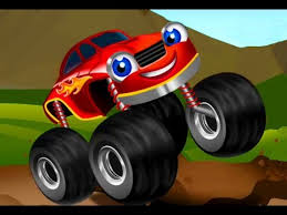 Monster Truck Kids Racing Car Game Cartoon For Kids Youtube
