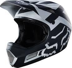 Fox Racing Rampage Comp Full Face Helmet Black Chrome Xl
