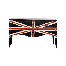 union jack furniture. Painted Union Jack Two-Drawer Media Console Coupon Furniture