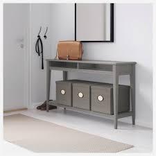 grey sofa table new liatorp console table grey glass 133 37 cm ikea