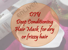 quick diy deep conditioning hair mask for dry or frizzy hair curlacious