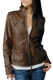 las nappa leather jacket