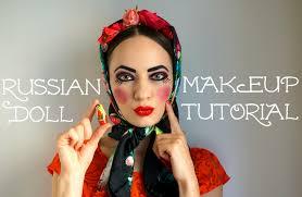 russian doll makeup 1