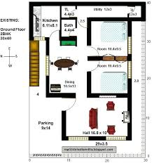 elegant 30x40 house plans for house plans for site north facing as per fun 2 my