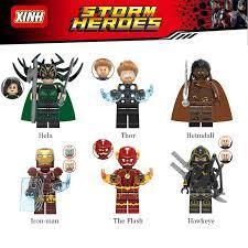 Báo giá Đồ chơi lắp ráp LEGO Mini Figure nhân vật anh hùng Marvel chỉ  20.000₫