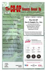 March April Round Up By Co Op Gas And Supply Co Inc Issuu