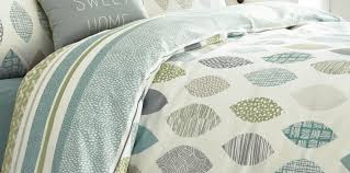 sumptuous design ideas blue green duvet cover appletree leaf reversible duvet covers quilt set 100 cotton