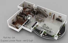 House Plans With d View