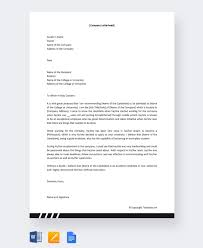 College Recommendation Letter For Student 13 College Recommendation Letter Templates Samples Doc Pdf