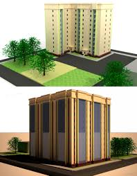 Курсовые и дипломные проекты Многоэтажные жилые дома скачать  Курсовой проект Десятиэтажный многоквартирный жилой дом 36 х 33 м в г