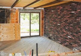 Pbjstories How To Paint An Interior Brick Wall Pbjreno Interior .